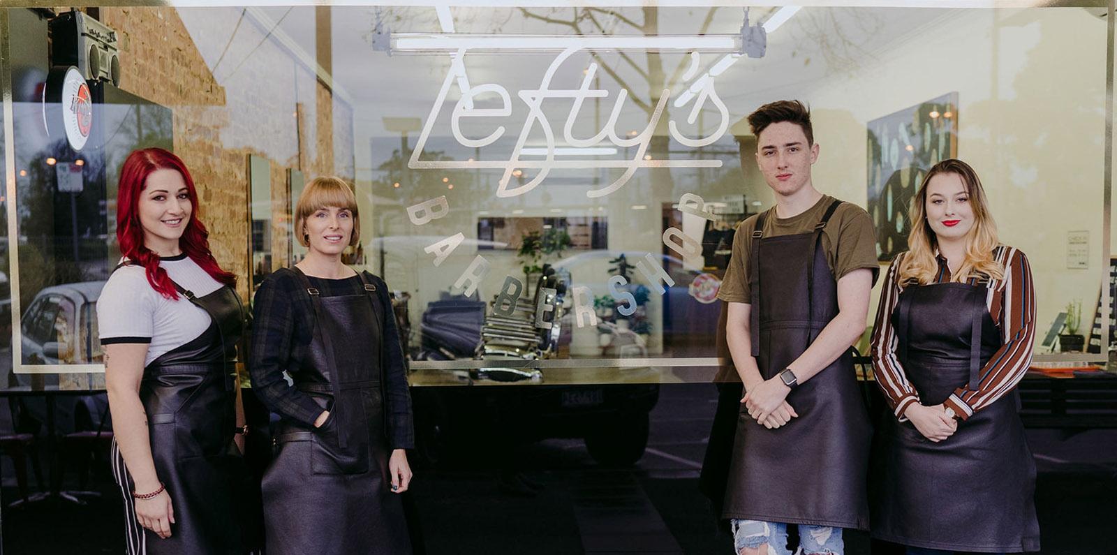 Lefty's Barber Shop Lilydale