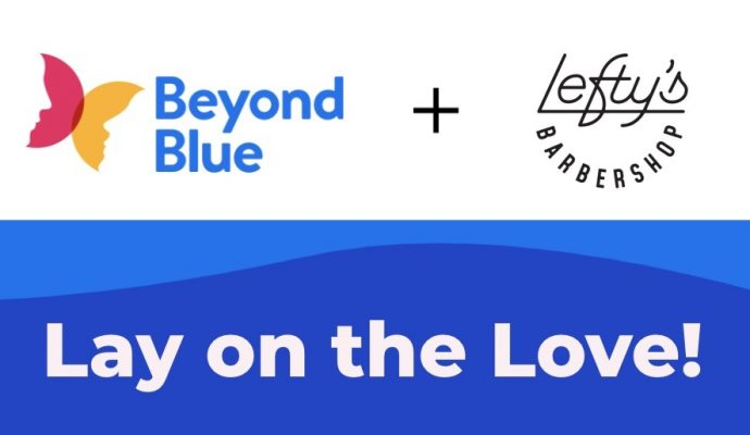 Beyond Blue Lay On The Love Leftys