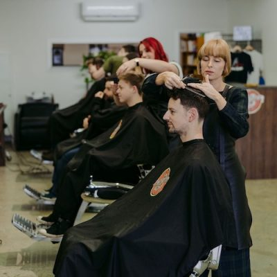 Lefty's Team – Lilydale Barbers At Work